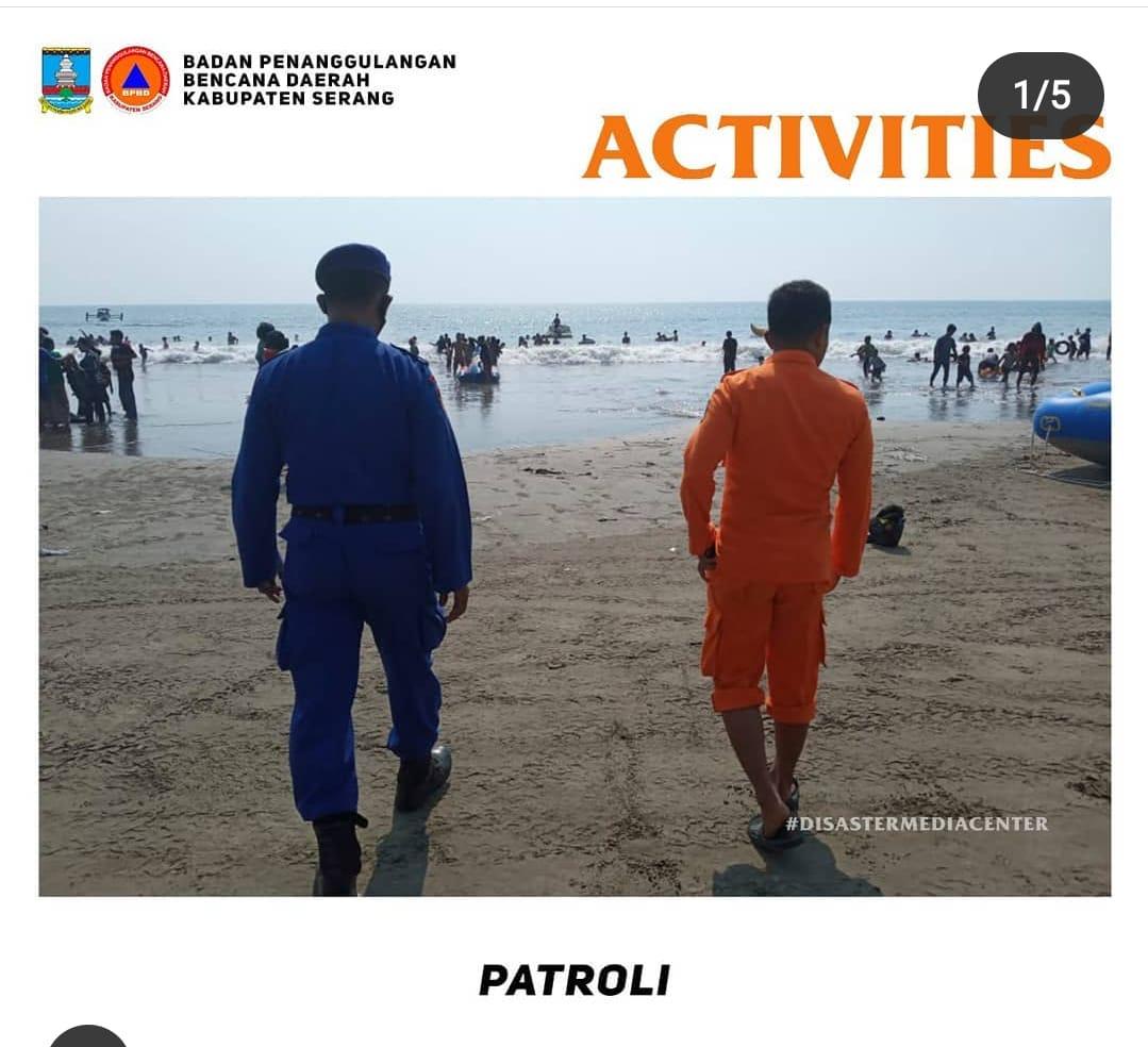 bpbd-kabupaten-serang-melakukan-patroli-guna-menghimbau-wisatawan