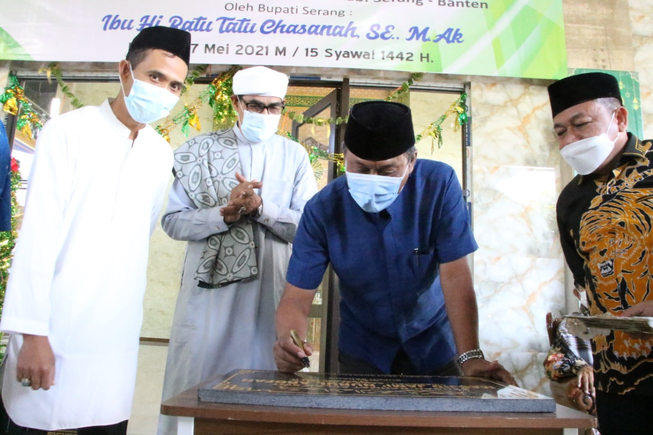 diresmikan-wabup-serang-harap-masjid-optimal-jadi-kiblat-peradaban-islam
